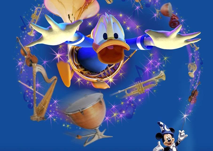 Mickey and his PhilharMagic Orchestra now at Disneyland Paris